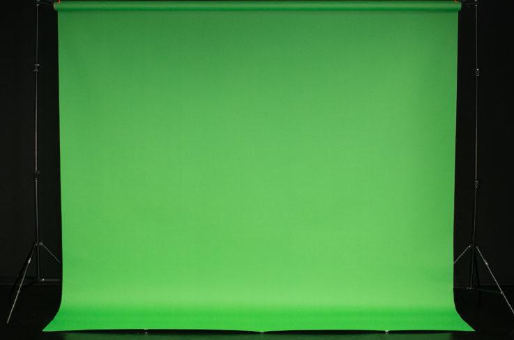 背景紙(2.7M幅) クロマキー緑