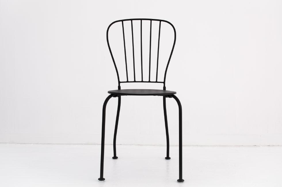 一人用椅子(黒)