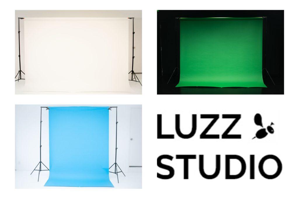 撮影サービスオプションにて使用可能な背景紙