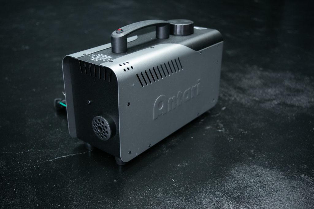 撮影サービスオプションにて使用可能なスモークマシン
