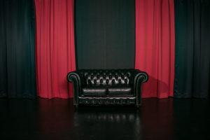 黒ホリゾント(黒い部屋)の室内写真10