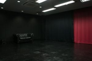 黒ホリゾント(黒い部屋)の室内写真2