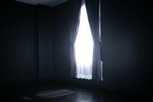 黒ホリゾント(黒い部屋)の室内写真4