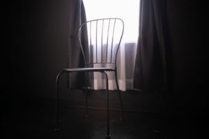 黒ホリゾント(黒い部屋)の室内写真5