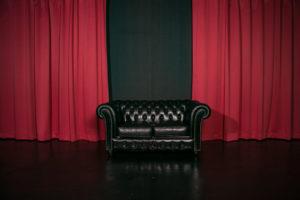 黒ホリゾント(黒い部屋)の室内写真9