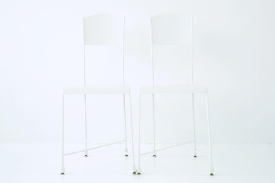 一人用椅子(白)2