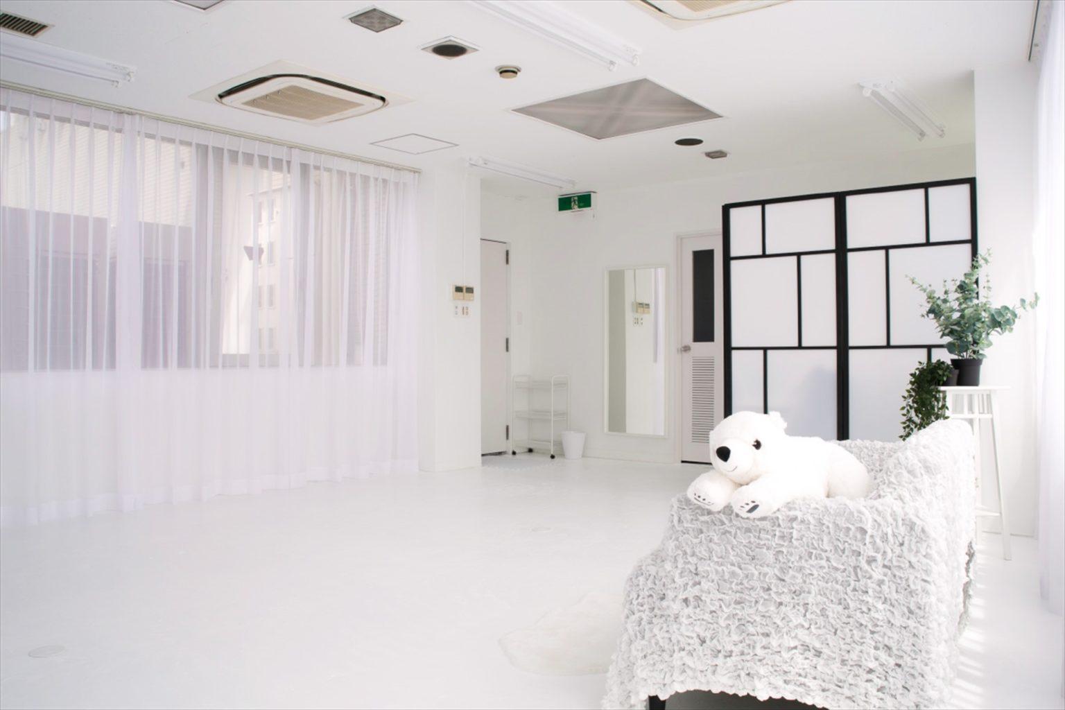 LUZZ STUDIOの白ホリゾント(白い部屋)の室内写真 7
