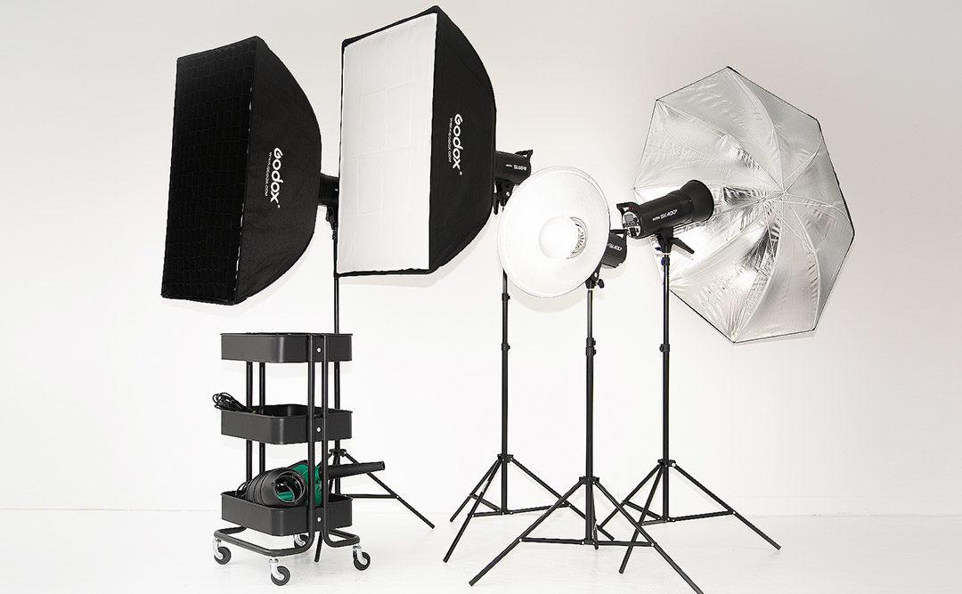 大阪撮影スタジオの撮影用機材や小道具